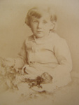Carte de  visite.  Harold Wightman Jones at age three years.; H.P. Robinson; 1882; 2011.72.37