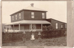 Bell House, Pakuranga, c.1898; Zealandia Photo Company; c.1898; 14610