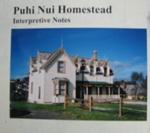 Boxed Collection Alan La Roche research notes - Puhi Nui; Alan La Roche; 1975-2010; 2012.68.1