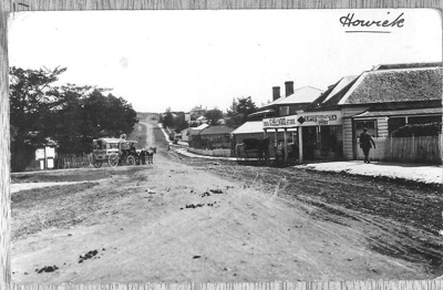 Picton Street, Howick - looking west; Unknown; circa 1908; 1000