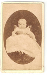 Carte de Visite of a baby at age 2 months.; C. Wherrett ; 2010.97.1