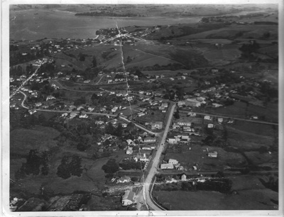 Aerial View of Howick looking over Picton Street f...