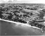 Aerial View of Mellons Bay; Whites Aviation; 1953; 7266