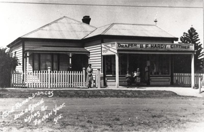 Draper B. F. Hardy Clothier, Picton St, Howick. C....