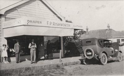 Draper F. P. Rishworth Clothier, Picton St, Howick.; C. 1920; 14800