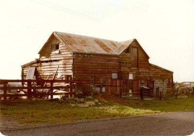 Colour photograph of a Barn, Broomfield Rd, Howick...
