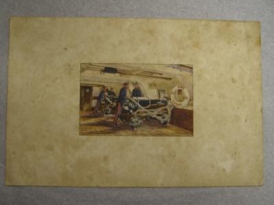 'Two of the Trafalgar Guns'; Col. Arthur Morrow (1842-1937); 2010.65.1