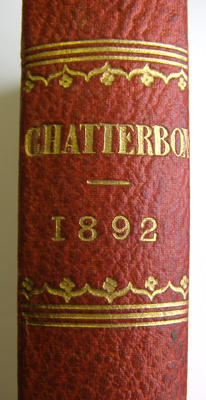 Chatterbox, 1892 Edited by J. Erskine Clarke, M. A...