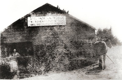 Sivewright's Forge, Moore St, Howick, c 1920.; c 1920; 11077