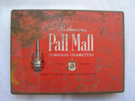 'Pall Mall' Cigarette Tin.; 2011.22.1