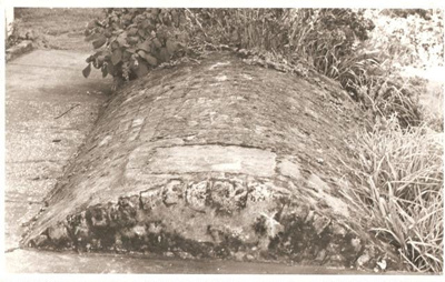 Oven of Hughes Bakery, Selwyn Rd, Howick.; 11019