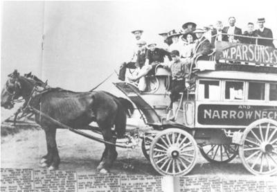 Horse Bus - W. Parsons & Son; c. 1900; 9130