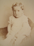 Carte de visite. Charles Darbishire Jones at one and a half years.; H.P. Robinson; 1882; 2011.72.36