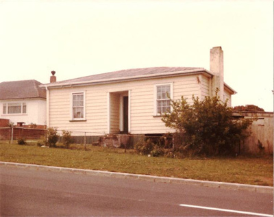 Blank's Home, Howe Street, Howick. Photo taken in ...