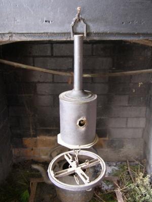 clockwork bottle jack; 2009.116.1