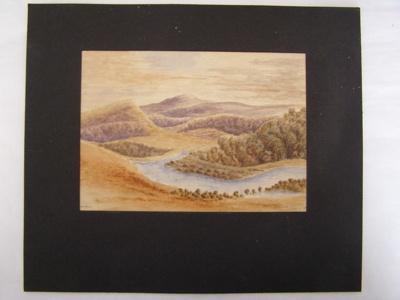 'Puhoi River'; Col. A. Morrow; 2010.84.1