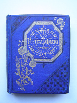 The Birthday Book of Poetical Weeks ; W Mack; 2012.102.1