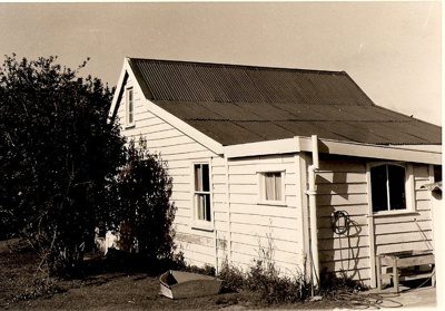 Miss Heath's Fencible Cottage; from the rear. Nels...