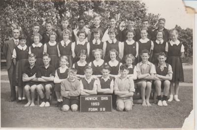 Howick District High School Form 2 B 1953.; Sloan, Ralph S; 1953; 2019.080.28
