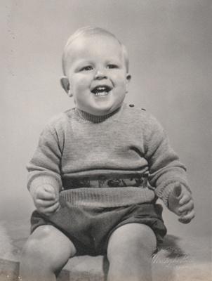 Brett Harold Hattaway b. 29.12.1955 son of William Robert Hattaway and P Hadfield.; c1956; P2021.163.01