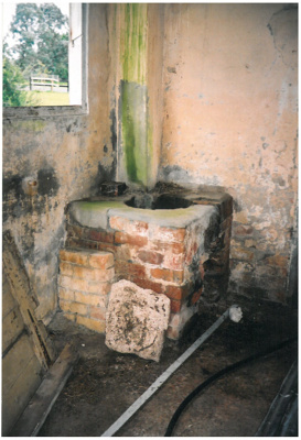 Brickmaker's corrage interior; La Roche, Alan; 1/01/2005; 2017.085.27