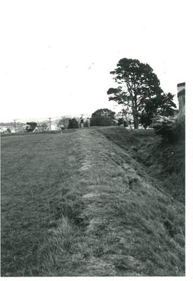 Western bastion on Stockade Hill; La Roche, Alan; Sept. 1970; 2016.311.56