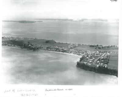 Bucklands Beach peninsular; Whites Aviation; 12.12.1961; 2017.008.64