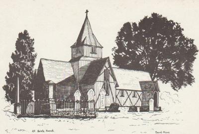All Saints Church 1975; More, David; 2018.201.41