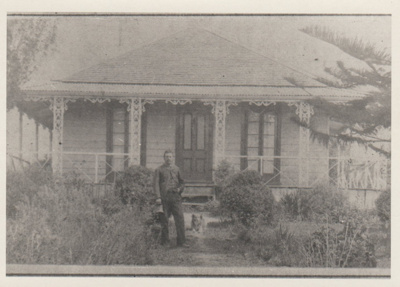 Honeymoon Cottage in Howe Street.; c1900; 2018.027.09