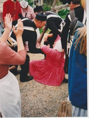 "Live ""temperance"" Day at Howick Historical Village.; La Roche, Alan; 1/05/2002; 2019.139.05"