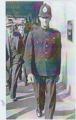 Roy Forsyth, a Howick Policeman.; 2018.345.01