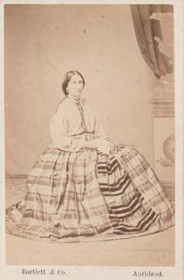 Isabella Anne Louisa Peacocke; Bartlett, R H, Queen Street, Auckland; 2018.403.08