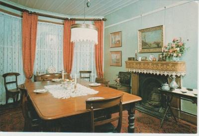 Dining room at Ewelme Cottage; 2018.378.13