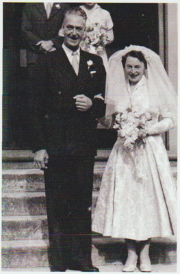 Roy and Nancy Forsyth on their wedding day.; c1972; 2018.345.02