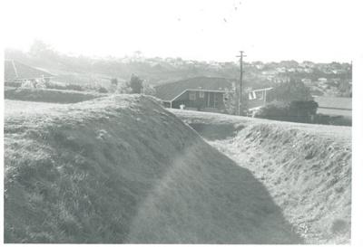 Trench on Stockade Hill; La Roche, Alan; Aug. 1968; 2016.311.53
