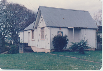 Howick Girl Guides Hall in Vincent Street.; La Roche, Alan; 1/08/1985; 2017.598.06
