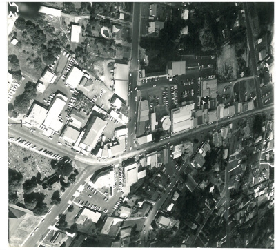 Aerial View, Howick, 1972.; 1972; 2016.132.49