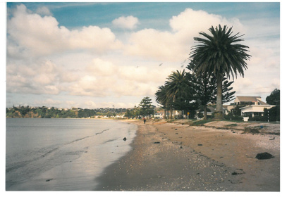 Eastern Beach looking east c1990; La Roche, Alan; 2017.049.12