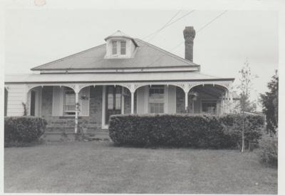 Woodcote, the Macmillan homestead.; La Roche, Alan; 1970; 2017.606.19