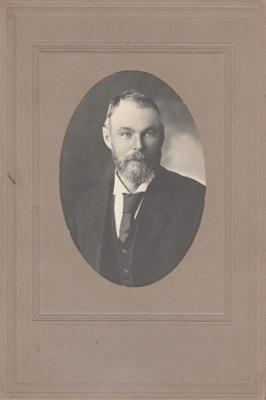 Robert Hattaway 1852 - 1915 eldest son of Robert Hattaway and Maria O'Leary.; P2021.163.02