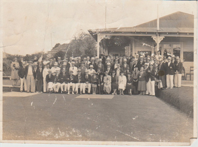 Howick Bowling Club, Opening Day 1945-6; 1920; 2017.390.54