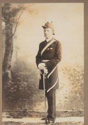 Colonel Arthur Morrow on the centenary of the Battle of Trafalgar; 1905; 2018.394.02
