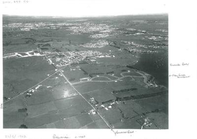 Aerial view of Pakuranga c.1960; Whites Aviation; 21.5.1962; 2016.494.94