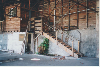Former Howick Bus Company depot; La Roche, Alan; 1/10/2001; 2017.492.10