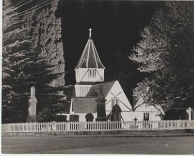 All Saints Church 1974; N.Z.Herald; 1/08/1974; 2018.197.37
