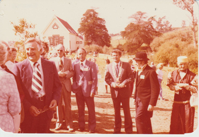 The opening of the Howick Historical Village.; 8/03/1980; 2019.100.70