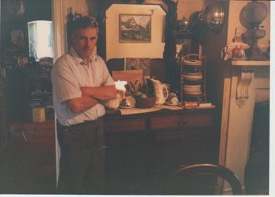Warwick Hoyte at Hawthorn Dene in 1959; 1989; 2018.367.01