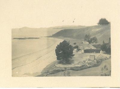 Camping on Maraetai Beach 1934; Seaman, Tony; 1911; 2017.302.57