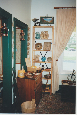 Howick Historical Village shop in Whites Homestead; La Roche, Alan; 2019.121.06