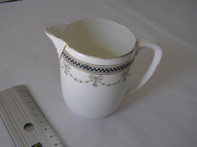 small ceramic milk jug